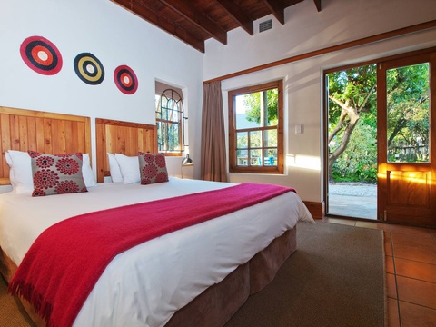 Double Room Bedroom | Storms River Tsitsikamma Accommodation