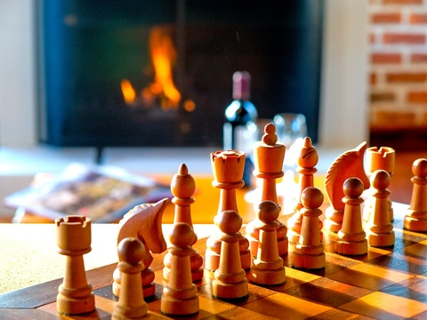 Enjoy Chess in our Main Lounge