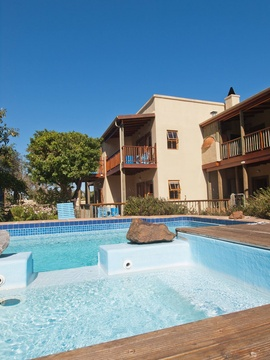 Storms River Guest House Swimming Pool