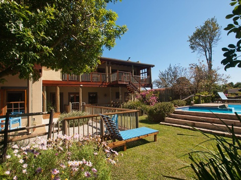 Garden Views & Swimming Pool - At The Woods Guest House