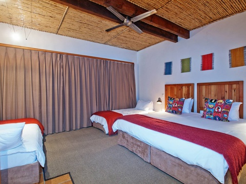 Family Room Beds | Storms River Tsitsikamma Accommodation