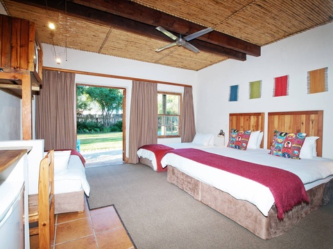 Family Room Layout | Storms River Tsitsikamma Accommodation